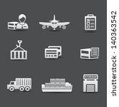 logistics and transport... | Shutterstock .eps vector #140363542