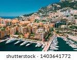 monaco  monte carlo. yachts... | Shutterstock . vector #1403641772