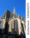 the st. stephen's cathedral in... | Shutterstock . vector #1403643275
