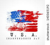 4th july  american... | Shutterstock .eps vector #140365192