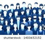 the crowd of abstract people ... | Shutterstock .eps vector #1403652152