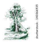 old tree | Shutterstock . vector #140366935