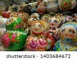 matryoshka. russian wooden doll ...   Shutterstock . vector #1403684672