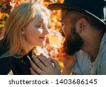 they radiate love. bearded... | Shutterstock . vector #1403686145