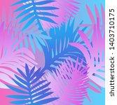 tropical botanical seamless...   Shutterstock .eps vector #1403710175