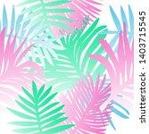 tropical botanical seamless...   Shutterstock .eps vector #1403715545