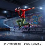 Male Hip Hop Dancer Beautiful - Fine Art prints
