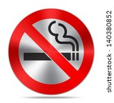 no smoking sign | Shutterstock .eps vector #140380852