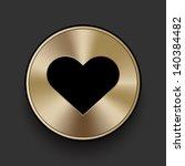 vector metal multimedia heart...