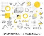 geometric background. universal ...   Shutterstock .eps vector #1403858678
