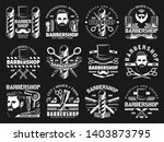 barbershop vintage premium men... | Shutterstock .eps vector #1403873795
