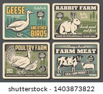 farm food products  cattle farm ... | Shutterstock .eps vector #1403873822