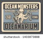Ocean Monsters Oceanarium Show...