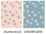 retro style palm trees seamless ... | Shutterstock .eps vector #1403891858