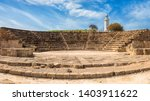 Ancient Odeon Amphitheatre In...