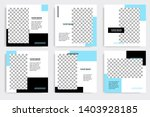 editable square abstract...   Shutterstock .eps vector #1403928185