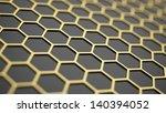 Golden Hexagonal Cells...