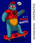 cute funny bear wild animal... | Shutterstock .eps vector #1403962922