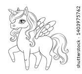 Fairy Tale Pegasus. Pony...