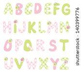 alphabet set | Shutterstock . vector #140399776