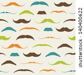 vintage seamless pattern with... | Shutterstock .eps vector #140400622