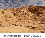 mount sinai  or mount horeb  in ... | Shutterstock . vector #1404046328