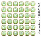 gui buttons jewelry color green ...