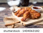 hot and spicy korean barbeque...   Shutterstock . vector #1404063182
