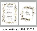 wedding invite  invitation ... | Shutterstock .eps vector #1404115022