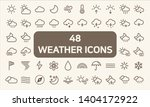 set of 48  weather and weather...