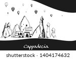hand drawn illustration... | Shutterstock .eps vector #1404174632