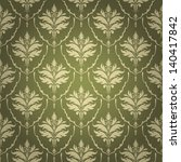vintage wallpaper seamless | Shutterstock .eps vector #140417842