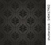 dark vintage wallpaper seamless | Shutterstock .eps vector #140417902
