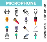 microphone  voice recording... | Shutterstock .eps vector #1404184205