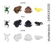 vector illustration of wildlife ... | Shutterstock .eps vector #1404193235