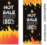 hot sale price offer deal... | Shutterstock .eps vector #1404196898