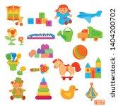 vector image. big set of... | Shutterstock .eps vector #1404200702