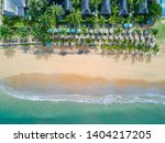 aerial view of resort villa... | Shutterstock . vector #1404217205