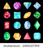 set of fantasy jewelry gems ...