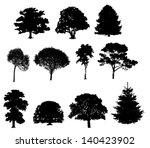 vector illustration of tree... | Shutterstock .eps vector #140423902