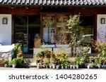 miscellaneous street shop....   Shutterstock . vector #1404280265