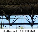 modern metal architectural... | Shutterstock . vector #1404305378