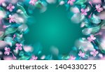 green mystery spring background ... | Shutterstock .eps vector #1404330275