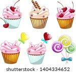 illustration of isolated vector ... | Shutterstock .eps vector #1404334652