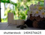candle aromatherapy spa... | Shutterstock . vector #1404376625