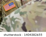 us army. american soldiers. us...   Shutterstock . vector #1404382655