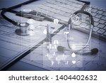innovative technologies in... | Shutterstock . vector #1404402632