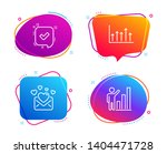 confirmed  love mail and growth ... | Shutterstock .eps vector #1404471728