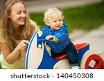 closeup portrait of a happy... | Shutterstock . vector #140450308