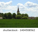 church tower  steeple and spire ... | Shutterstock . vector #1404508562